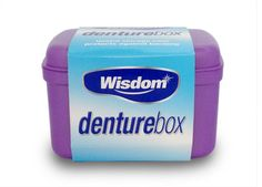 Wisdom Denture Box Wisdom Denture Box: Express Chemist offer fast delivery and friendly, reliable service. Buy Wisdom Denture Box online from Express Chemist today! (Barcode EAN=5028763004368) http://www.MightGet.com/january-2017-11/wisdom-denture-box.asp