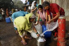 Scientists calculate that about two-thirds of the world's population faces severe water scarcity for at least one month a year. But that may not be the end of the story. Water Scarcity, World Population, Climate Change Effects, Slums, At Least, War, People, Social Justice, Scientists
