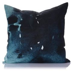 Moonstone Print Silk Large Cushion 65cm x 65cm - Cover Only