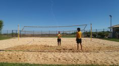 Time for a voleiball game