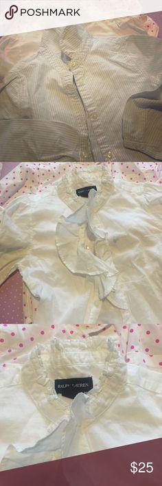 (3) girls size 6 shirts jcrew RL and Gymboree $25 (3) girls size 6 shirts jcrew RL and Gymboree $25 Shirts & Tops Button Down Shirts