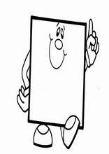 Printable worksheets for kids Geometric Shapes 8 Preschool Art Activities, Letter Activities, Color Activities, Preschool Worksheets, Printable Worksheets, Preschool Coloring Pages, Coloring For Kids, Shape Coloring Pages, Mathematics Geometry