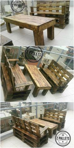 You can have this furniture in your house that is so creative designed with the functional touch of the wood pallet inside it. This furniture will add up the artistic and much modish variations all into it. It is all comprised with the settlement of the benches that do look much interesting.