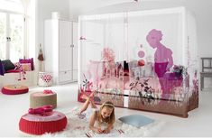 LIFETIME provides a high-quality themed bedrooms for children with safe materials,sustainable,eco-friendly, an investment that will last years of pleasure Best Bedding Sets, Cozy Bed, Bedroom Themes, Kidsroom, Designer Wallpaper, Wonderland, Toddler Bed, Design Inspiration, House Design
