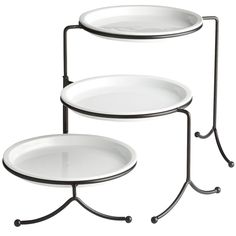 Luminous 3-Tier Plate with Stand | Pier 1 Imports