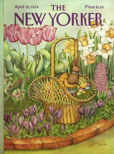 The New Yorker - Monday, April 23, 1984 - Issue # 3088 - Vol. 60 - N° 10 - Cover by : Jenni Oliver