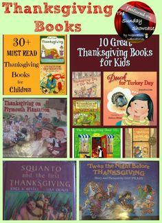 The Sunday Showcase Featuring Thanksgiving Books