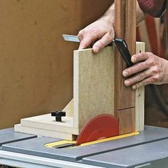 Want to make your tablesaw accomplish even more? Fit it with a jig or two for increased cutting and joinery capabilities. Many of jigs take less than an hour or two to build and can be used for a lifetime.