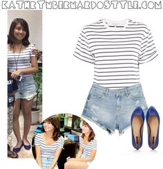 Kathryn Bernardo Outfits | kathryn bernardo outfit | Tumblr Kathryn Bernardo Outfits, Casual Wear, Casual Outfits, Her Style, Ootds, Celebs, Style Inspiration, How To Wear, Fashion Tips