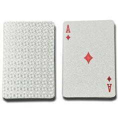 มาใหม่ อัพเดตราคาล่าสุด Luxury Playing Cards (Silver) - Intl พร้อมส่ง สินค้าได้รับการรับรอง