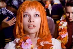The Fifth Element  I can never watch this movie enough times. <3