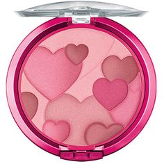 High End: Tarte Amazonian Clay Blush in Blissful Dupe: Physicians Formula Happy Booster Blush in Warm