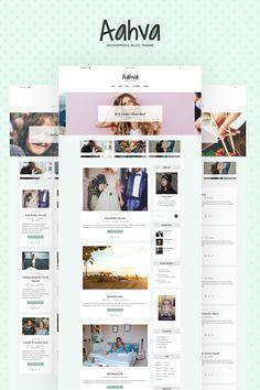 Aahva - Blogging WordPress Theme Big Screenshot