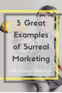 It's about to get weird up in here. Let's delve into 5 of my favourite examples of surreal marketing!  5 Great Examples of Surreal Marketing (Possibly NSFW)  #marketing #surreal #bizarre #strange #unusual #advertising #ad #copy #blog #blogging #jeniilowe #obsidiancontent #nsfw