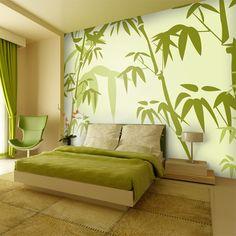 Tapeten - Big Bambus - Tapete - ein Designerstück von Wandtattoo-yd bei DaWanda
