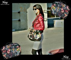 Fashion retro flower bag
