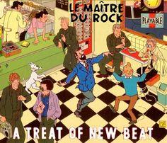 Les Aventures de Tintin - Album Imaginaire - Le Maître du Rock