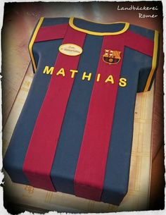 FC Barcelona Cake  www.baeckerei-roemer.at