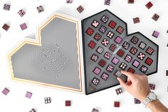 Valentine's LOVE Truffles Heart - Valentines Collection - Truffles - Compartes Chocolatier Gourmet Chocolate - 1