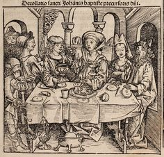 Nuremberg Chronicle Woodcuts, 1480s, Michael Wolgemut workshop