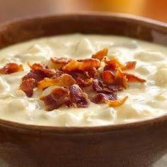 Crown Recipes: Cheesy Potato Bacon Crockpot Soup
