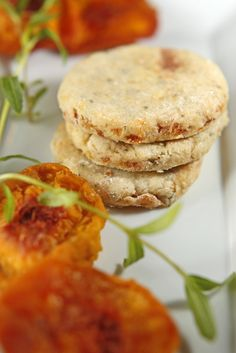 Inspired by the wonderfulDorie Greenspan and her recipe for Apricot-Tarragon Cocktail Cookies, our very slightly altered version came about due to a bunch of tarragon growing wildly in the garden