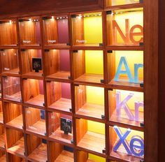 The most beautiful periodic table displays in the world original why i built a wooden periodic table in my spare time urtaz Image collections