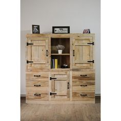 Comodă lemn masiv Recycled Wood Furniture, Tall Cabinet Storage, Recycling, Home Decor, Decoration Home, Room Decor, Upcycle, Home Interior Design, Home Decoration
