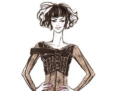 """Check out new work on my @Behance portfolio: """"Fashion sketch"""" http://be.net/gallery/38511367/Fashion-sketch"""