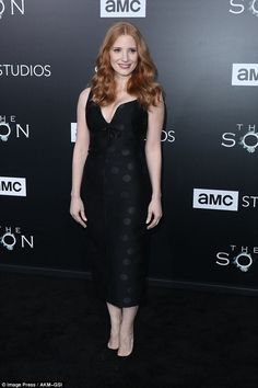 Show of support: The Zero Dark Thirty actress added some extra star power to the premiere ...