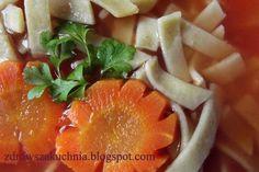 Zupa pomidorowa bez aromatów i sztucznych barwników.