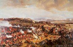 Felix Henri Philippoteaux - Die Schlacht von Waterloo