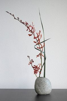 delicious blog: Japanese Ikebana: The Beauty of One Flower