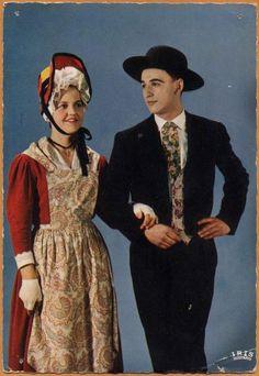 FolkCostume&Embroidery: Costume of Bourbonnais, France