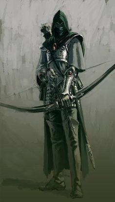 Grown up Kalanan in battle archer armor.