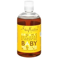 Shea moisture baby wash.  AMAZING.  Bought if for my shortie, but stole it back for myself.  Good quality ingredients, no parabens etc.  It takes off makeup like magic and leaves my acne prone skin soft and clear. It smells pretty too.