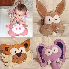 Peggy Pig, Bernie Bunny, Claude Cat & Edmund the Elephant Soft Toys