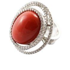 ce9286288e9 Anelli « Coralli « I nostri gioielli - Fecarotta Antichità. Gemstone Rings Jewelry Rings