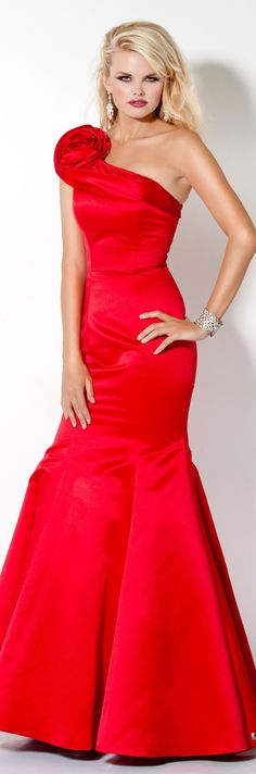 Jovani couture 2013 ~   beautiful red...