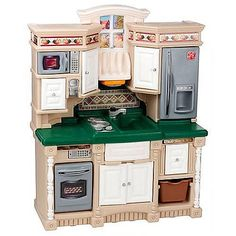 Good The Step2 Lifestyle Dream Kitchen Has Five Realistic Electronic Features,  Microwave, Oven, Stovetop