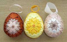 Výsledek obrázku pro nešitý patchwork vajíčko
