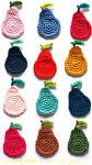 DIY Easy crochet pears