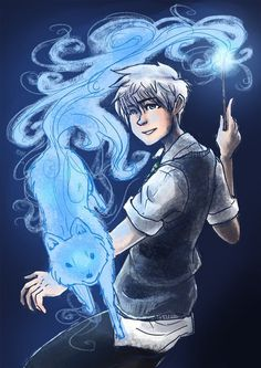 The Big Four: Jack's Patronus by ZLynn<--I wonder why it's a-a fox?