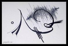 """Beat"" Arabic Calligraphy, Art, Art Background, Kunst, Arabic Calligraphy Art, Performing Arts, Art Education Resources, Artworks"