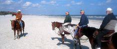 Amelia Island State Park  Horseback Riding on Beach