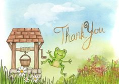 Thank You, Frog, Card, Well