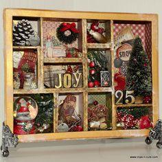 Clips-n-Cuts | Christmas Configurations Box | http://www.clips-n-cuts.com