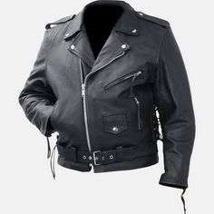 men's leather cowhide soft leather motorcycle jacket $89.95! #motorcyclejacket #motorcyclejackets https://theleatherdropship.com