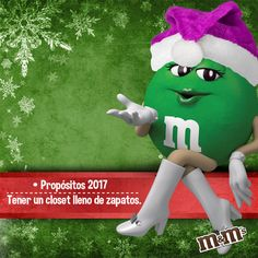 M&M's Mexico - ¿Cúal es tu propósito para este nuevo año ?