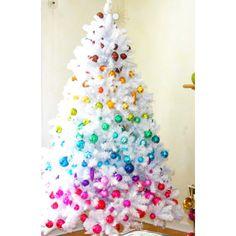"7 Rainbow Christmas Trees That Made us Say ""Wow!"" | Martha Stewart"